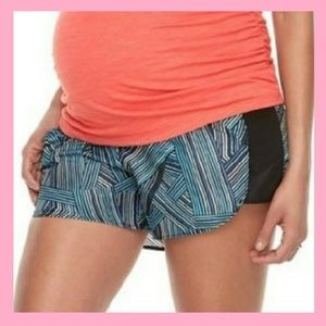Lightweight Maternity Active Shorts